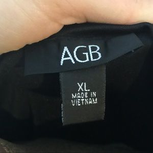 AGB Tops - AGB Multi-Colored Short Sleeve Blouse